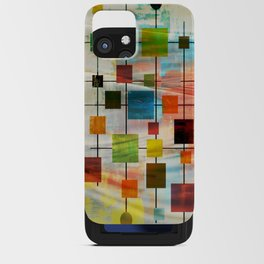 Mid-Century Modern Art 1.3 -  Graffiti Style iPhone Card Case