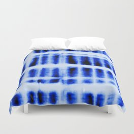 Shibori  Block Pattern Duvet Cover