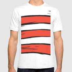 The Dr. is in the house Mens Fitted Tee MEDIUM White