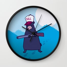 Open Season Wall Clock