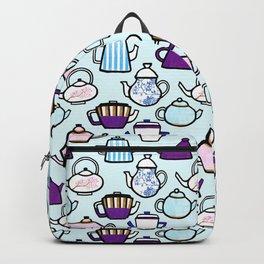 Tea Pot Pattern Backpack