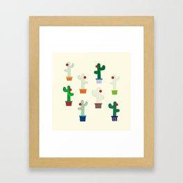 The Cactus! Framed Art Print