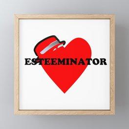 Esteeminator Framed Mini Art Print