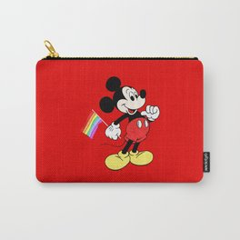 Mickey Mouse - Gay Pride - Gay Days - Pop Art Carry-All Pouch