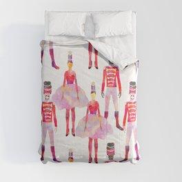 Nutcracker Ballet - White Comforters