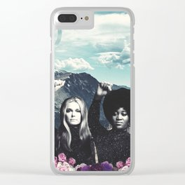 Gloria & Dorothy Clear iPhone Case