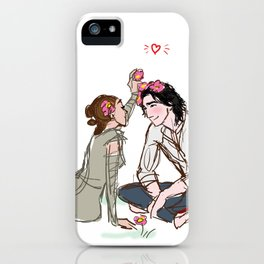 Ben Solo in Love iPhone Case