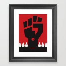 RACISM Framed Art Print