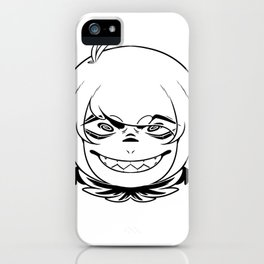 Toothy Smirk iPhone Case