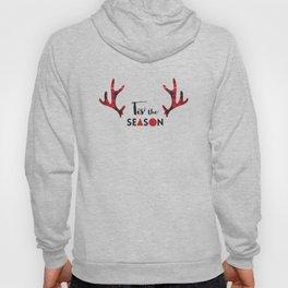 Tis the Season Antlers Hoody