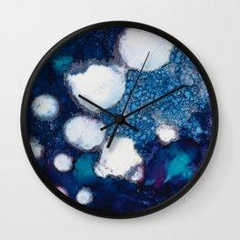 Ink Flow No. 10 Wall Clock