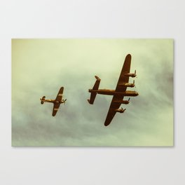 Coming to get ya Canvas Print