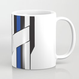 Gladiator Helmet American Flag Thin Blue Line Coffee Mug
