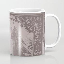 Vintage Canada Stamp Coffee Mug