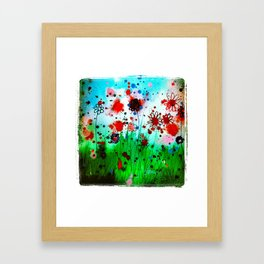 Summery  Framed Art Print