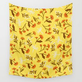 Beautiful Floral Pattern 1 Wall Tapestry