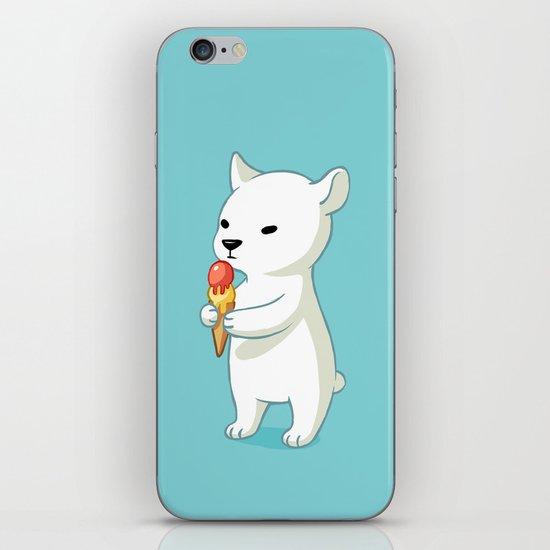 Polar Ice Cream iPhone & iPod Skin