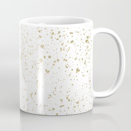 Los Angeles Nights Gold Paint Coffee Mug