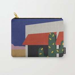 Boutique With Cactus Carry-All Pouch