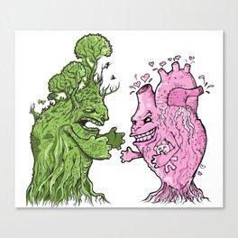 Nature vs Nurture Canvas Print