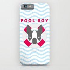 Boston Terrier: Pool boy. iPhone 6s Slim Case