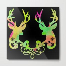Couple of Deer Metal Print