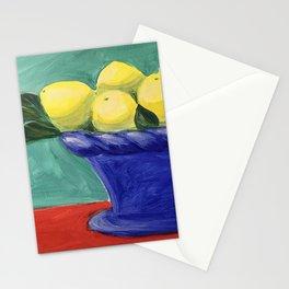 Sweet Summer Lemons Stationery Cards
