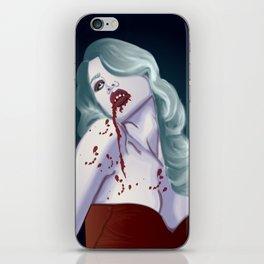Lovely Vampy Mistress iPhone Skin