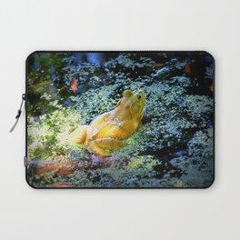Bullfrog In The Swamp Laptop Sleeve