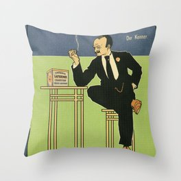 Der Kenner Throw Pillow