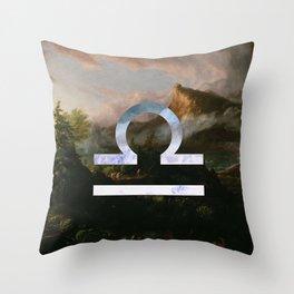 Fine Zodiac / Libra Throw Pillow