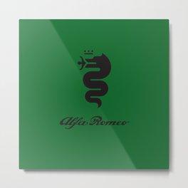 Alfa Romeo Biscione Metal Print