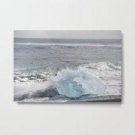 Resting Ice Metal Print