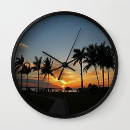 Mexican Wind Wall Clock