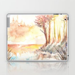 Watercolor Landscape 03 Laptop & iPad Skin
