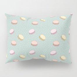 Pastel Macarons Pillow Sham