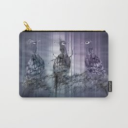 A perfect day between peacock! Carry-All Pouch