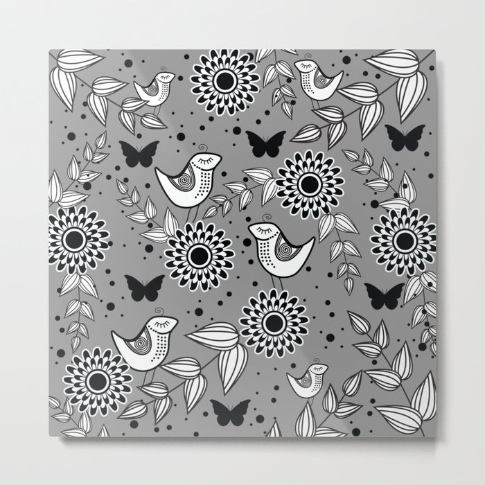 Pattern O Metal Print