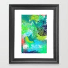 Abstrait Framed Art Print