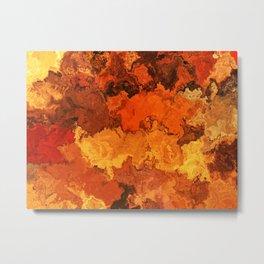 Vibrant Marble Texture no24 Metal Print