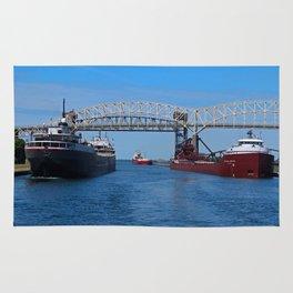 Ojibway, CSS Assinboine, Hon James Oberstar Rug