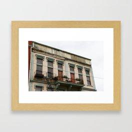 Washington Park Apartment | Cincinnati, OH | Italiante Architecture Framed Art Print