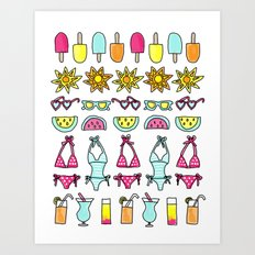 Summer Daze Art Print