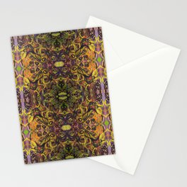 Fall Cat Pattern Stationery Cards