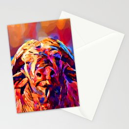 African Buffalo Stationery Cards
