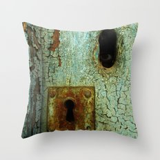 Keyhole 2  Throw Pillow
