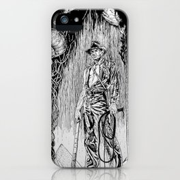 Indiana Jones and the Temple of Doom iPhone Case