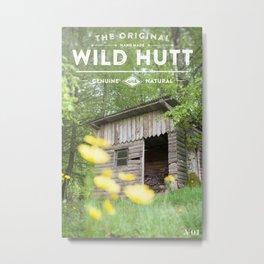 Wild Hutt Metal Print