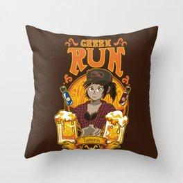 Green Run Tavern Throw Pillow