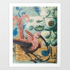 Fantastical Naturalism Art Print